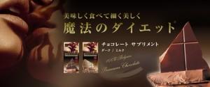 新発売!ダイエットチョコレートサプリメント